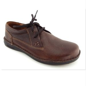 New BIRKENSTOCK Brown Lace Up Walking Shoes 38